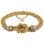 Pulsera Vintage Portuguea de Oro, Platino y Diamantes