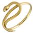 Pulsera Serpiente de Oro y Piedras de Color