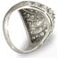 Sortija de Compromiso Vintage de Oro Blanco y Diamantes