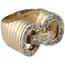 Sortija Retro de Oro y Diamantes