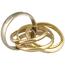 Sortija Cartier Trinity de Oro y Brillante