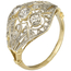 Sortija Art Decó de Oro y Diamantes