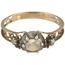 Anillo Siglo XVIII de Oro, Plata y Diamantes
