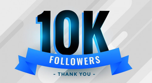 10K followers