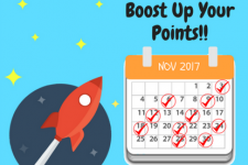 Pemenang Boost Up Points November 2017