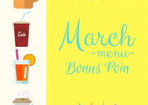 Pemenang Bonus Poin March Menu