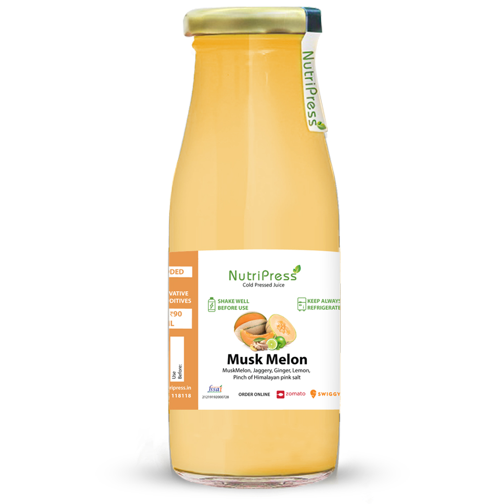 muskmelon Cold Pressed Juice 200ml