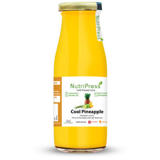 Cool Pineapple Cold Pressed Juice 250ml