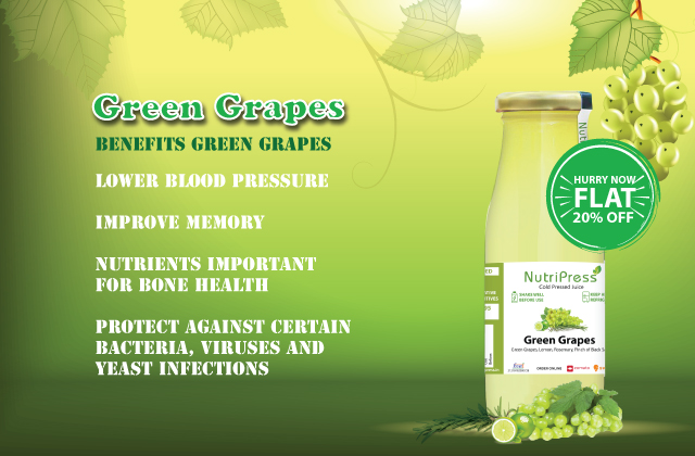 Green Grapes Cold Pressed Juice 200ml