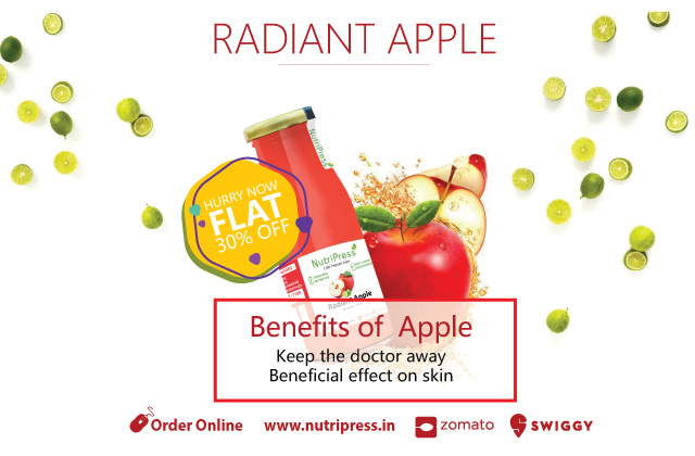 Radiant Apple Cold Pressed Juice 200ml