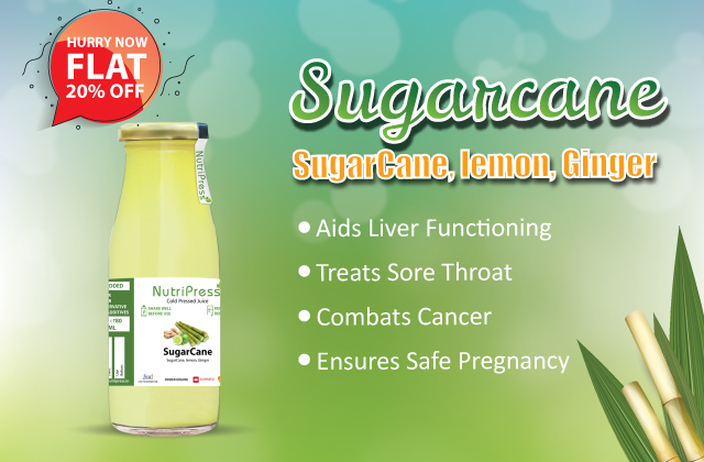 Sugarcane Cold Pressed Juice 200ml