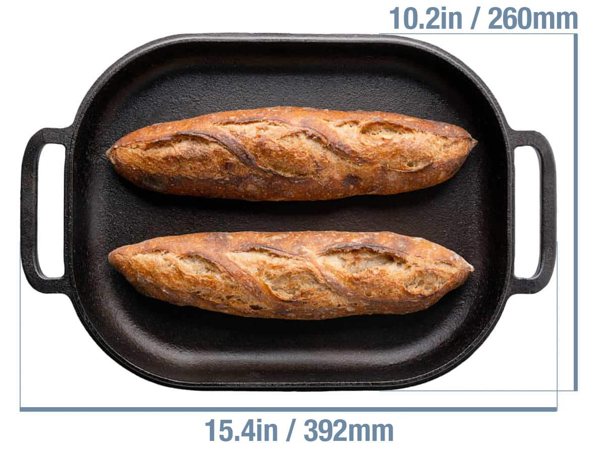 Challenger Bread Pan Size Dimensions
