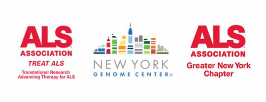 ALS and NYGC logos