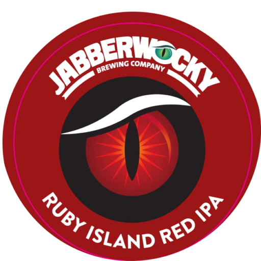 17 06 06 Jabberwocky Ruby Island Tap Badge 1
