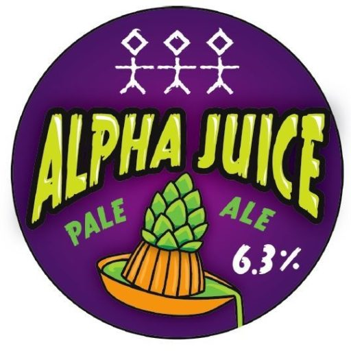 Alpha Juice Tap Badge Single