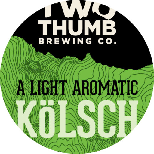 KOLSCH 100x100mm Tap Badge