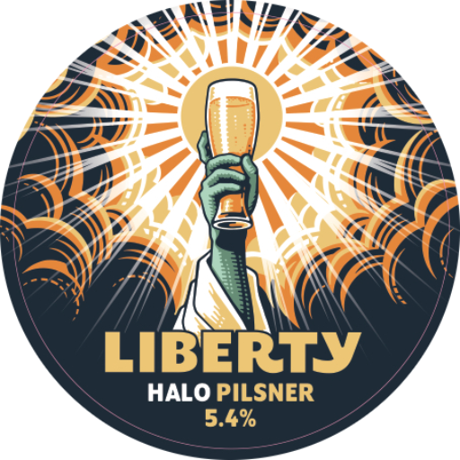 LIB Halo Tap Badge