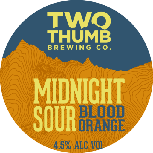 Midnight Sour Tap Badge 150mm