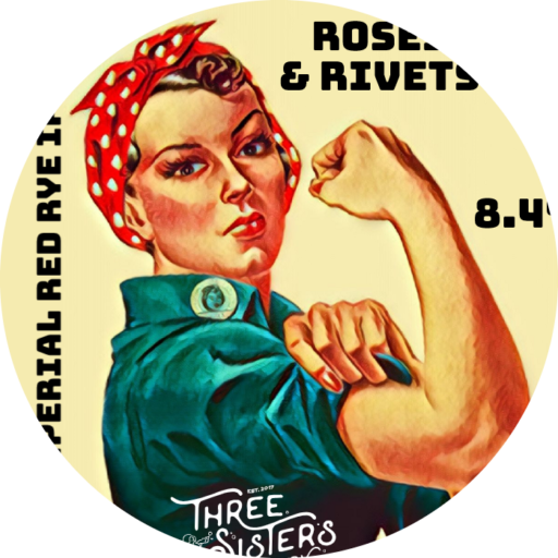 Rosesand Rivets Rev A Tap Badge