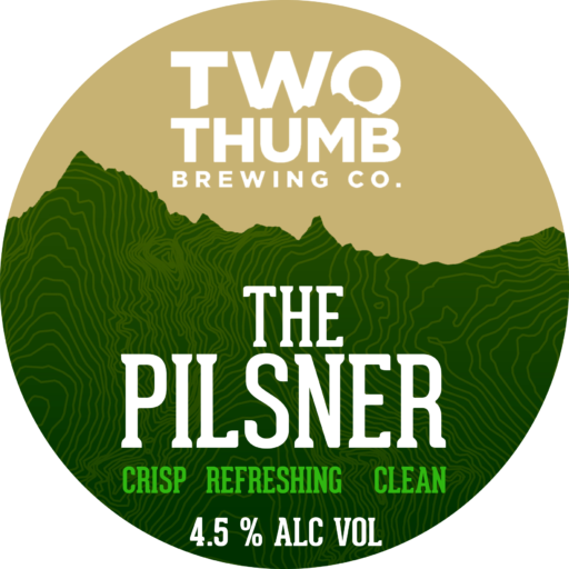 The Pilsner Tap Badge 150mm