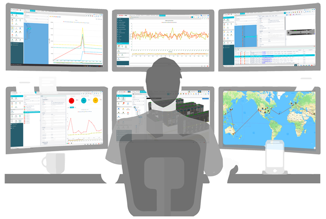 Visually Monitor the Data Center