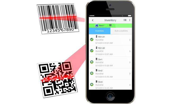 Mobile App Scanner Audit RFID