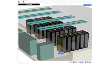 View data centers in 3D with Capacity Overlays