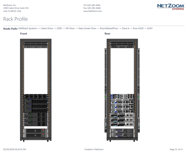 Rack Profile Last