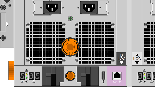 Vector illustration of EMC-DS60 using NetZoom Visio Stencils