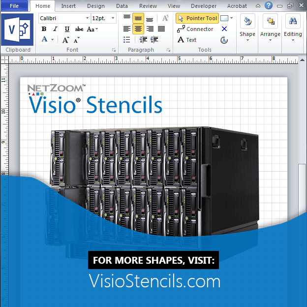 More Visio Stencils, Shapes and Templates