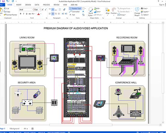 Wiring Diagram Visio  U2013 Wiring Diagram