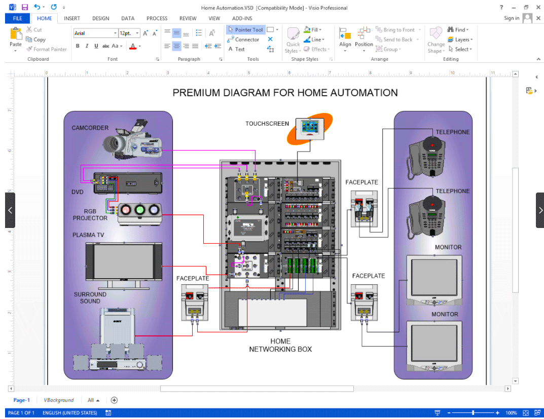 Create    Visio    AudioVideoWiring Diagrams   NetZoom