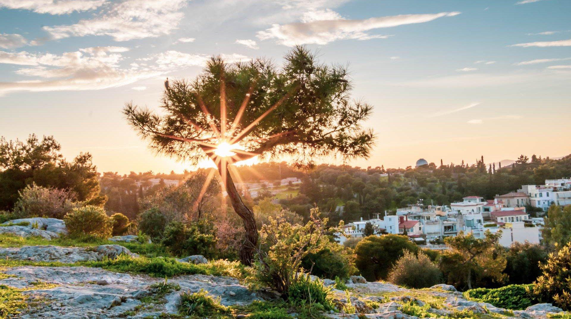 Ανατολή στην Αθήνα