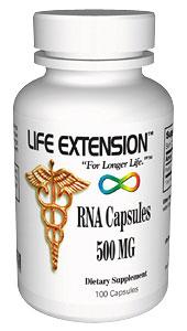 RNA (Ribonucleic Acid) | 500 mg, 100 capsules