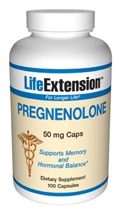 Pregnenolone is biochemically a prohormone. It is made directly from cholesterol within the mitochondria of the adrenal glands and, to a lesser degree, the nervous system, with the help of the cholesterol side chain cleavage enzyme, p450scc. Pregnenolone is a