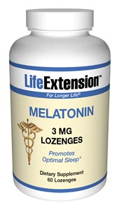 Melatonin | 3 mg, 60 vegetarian lozenges
