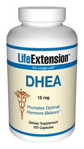 DHEA | 15 mg, 100 capsules
