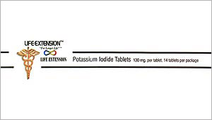 Potassium iodide is a specific blocker of thyroid radio-iodine uptake