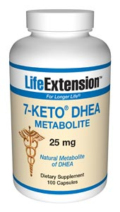 7-Keto DHEA is the brand name for a  natural metabolite of DHEA, your body'