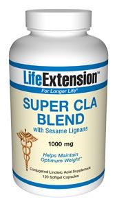 Super CLA Blend with Sesame Lignans | 120 softgels