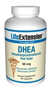 DHEA | 50 mg, 60 capsules