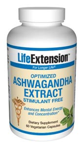 Optimized Ashwagandha Extract | 60 vegetarian capsules