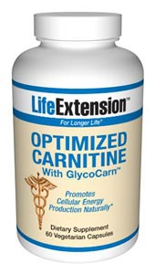 Optimized  Carnitine with GlycoCarn provides three advanced forms of carnitine to optimize cellular energy  production for a healthy heart, brain, and exercise recovery.     Benefits  at a Glance:              Optimizes cellular energy production and  availability        Promotes brain and hearth health        Supports youthful