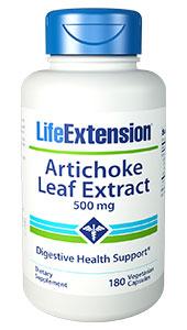 Artichoke Leaf Extract | 500 mg, 180 vegetarian capsules