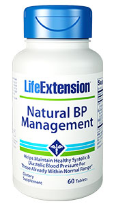 Natural BP Management is the first broad-spectrum nutritional supplement to combine potent,  standardized concentrations of novel nutritional agents in one convenient,  easy-to-use formula for maintaining healthy systolic and diastolic blood  pressure already within normal range.  Benefits at a Glance:          Helps