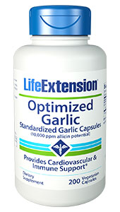 Garlic has been valued for centuries for its multi-faceted benefits.1-17 It has antioxidant action and can boost the level of natural glutathione, an important cellular detoxifier.18-25 The compounds allicin, oligosulfides, A. ursinum and A. sativum found in garlic support healthy
