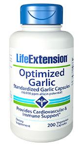 Optimized Garlic | 200 vegetarian capsules