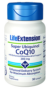 Super Ubiquinol CoQ10 with Enhanced Mitochondrial Support™ | 200 mg, 30 softgels