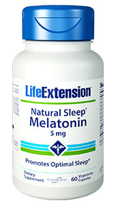 Natural Sleep® Melatonin | 5 mg, 60 vegetarian capsules