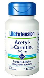 An age-related effect is the reduction in the energy-producing components of the cell, resulting in reduced cellular metabolic activity, and the accumulation of cellular debris.1-7 L-carnitine helps maintain cellular energy metabolism by assisting in the transport of fatty acids from